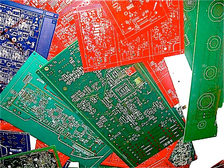 Rejected Circuit Boards With Lpi Direct Recycling Inc